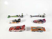 Johnny Lightning Top Fuel Legends Funny Car Legends LOT Dragster 1/64 Diecast