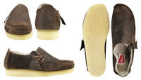 Clarks Originals Mens ** Wallabees Walnut Suede Lugger ** UK 10 / US 11 G