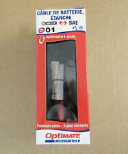 Optimate SAE 01 weatherproof battery lead M6 eyelets (023113)