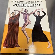 Stars of Modern Dance Tom Tierney Dover Paper Doll Dolls Excellent Uncut