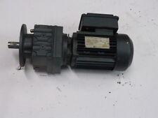 Sew Eurodrive RF7DT80N4 Motor 1HP Gear Reducer 60HZ 1700RPM ! NOP !
