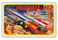 FIREBALL XL5 (STEVE ZODIAC) RETRO LUNCH BOX ART NEW JUMBO FRIDGE LOCKER MAGNET A