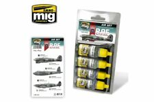 AMMO OF MIG A.MIG-7214 Late WWII RAF Colors 4x17ml
