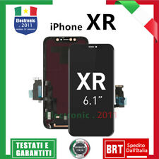 APPLE Display ORIGINALE Per iPhone XR LCD + Touch Screen Vetro NERO BLACK