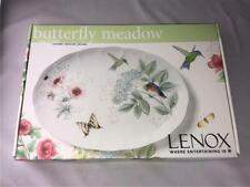 ~~ Lenox Butterfly Meadow Flutter Large Oval Platter NEW 882266