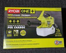 Ryobi One+ 18V Cordless Chemical Fogger Mister Sprayer Battery Charger Included