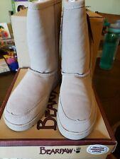 Bearpaw Meadow - 10 Inch Sheepskin Boots - Sand, Size M6/W7