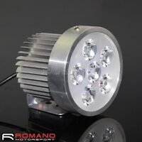 18W LED Universal Motorcycle Headlight Fog Spot Light Driving Head Light Lamp