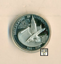 1976 American Bicentennial Medal Comm. the Declaration of Independence (OOAK)