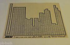 Microfich Catalogo parti di ricambio FIAT TIPO (1100 - 13710 - 1580) 60331735