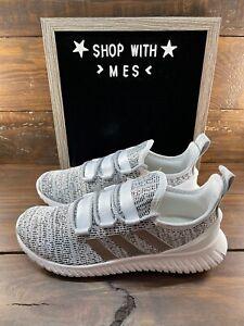 NEW! Adidas Men's KAPTIR Running Shoes Gray/White/Black #EE9514