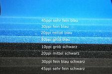 Hmf Filter (Hamburger Mattenfilter) zum selber bauen Filtermatten