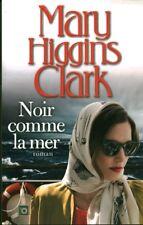 Livre noir comme la mer Mary Higgins Clark book
