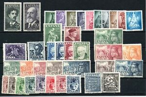 SPAIN , very nice lot ONLY better OLDER SETS and STAMPS , MH / MNH !