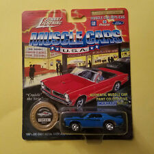 1/64 Johnny Lightning -1969 Cougar Eliminator - Gold Series #2 (15756)