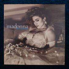 Madonna Like A Virgin LP Vinyl Record 1984 Sire Records WEA Made in Greece Greek