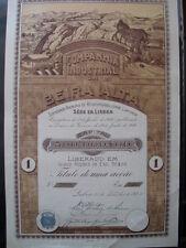 Companhia Industrial da Beira Alta 1920 Lissabon