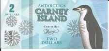 CARNEY ISLAND ANTARTIDA 2 DOLLARS 2016