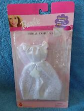 2001  Barbie  Bridal Fashions  Dress & Veil  NRFP