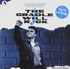 The Cradle Will Rock Original 1985 Cast Recording Soundtrack Rare! OOP! 2 CDs