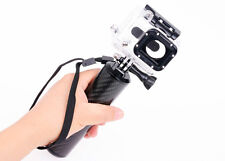 IT-SW-007: Carbon Fiber Handheld monopod Hand Grip for GoPro Hero HD Camera