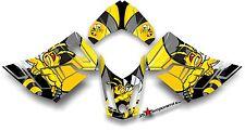 Ski-Doo REV XR1200 Custom Graphic Kit, Killer Bee Decal Sticker Skidoo Econo