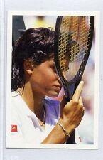 (Jh145-100) RARE,Trade Card Booster of Gabriella Sabatini, Tennis 1986 MINT