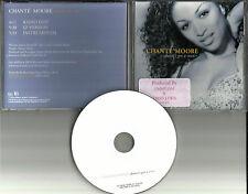 CHANTE MOORE Chante's Got a man EDIT & INSTRUMENTAL PROMO DJ CD Single 1999
