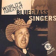Various Artists - World's Greatest Bluegrass Singers / Various [New CD]