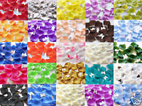 1000 pcs Silk Rose Petals Wedding Flowers Decoration Leaves High Quality US