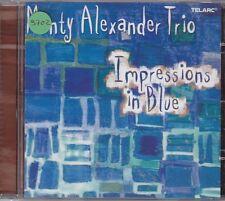MONTY ALEXANDER TRIO - impressions in blue CD