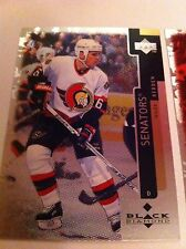 WADE REDDEN 3 97/98 UD BLACK DIAMOND 50 NM-MT OTTAWA SENATORS NEW YORK RANGER