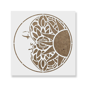 DIY Stencil Multipurpose stencil Moon Phases Stencil Moon Stencil Stencil Cookie Stencil Reusable Stencil