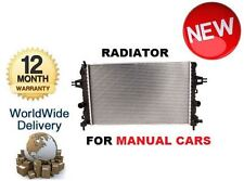 FOR VAUXHALL OPEL ASTRA H VAN TWINTOP ZAFIRA B 1.6 1.8 2004-->ON RADIATOR