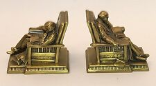 Antique K & O Co. 2 Bronze Bookends  -  Very Nice and From The 1930's