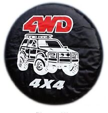 """Diameter 60-69cm 14"""" Universal 4WD Spare Tire Cover Wheel Covers (all car)"""