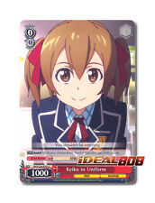 Weiss Schwarz Sword Art Online x 4 Keiko in Uniform [SAO/S26-E052 C] English