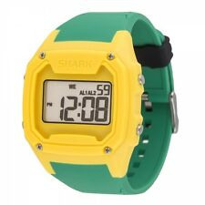 FREESTYLE KILLER SHARK Silicone Wrist Watch - Yellow/Green - NWT