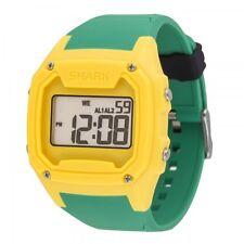 FREESTYLE KILLER SHARK Silicone Wrist Watch - XL Yellow/Green - NWT