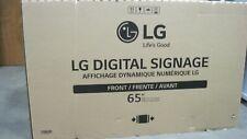 "LG 65SM5KD-B 65"" LED Digital Signage Display - Black"