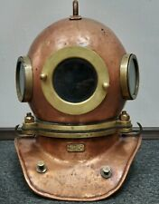 Russian  Soviet 3-bolt diving helmet (year 1970). USSR MARITIME