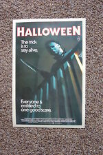 Halloween #3 Lobby Card Movie Poster Jamie Lee Curtis John Carpenters
