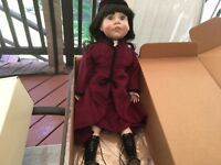 "Lee Middleton Rare Vinyl  doll created in Sincerity Series 21""   # signed"