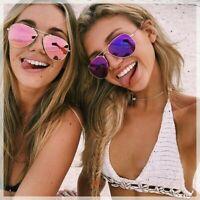 💯 Lunettes de soleil monture aviateur transparent miroir mixte top vintage  💯