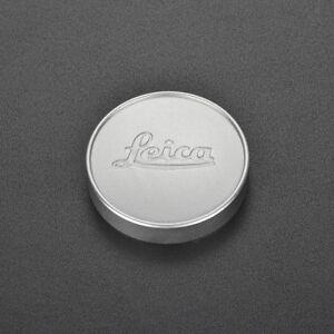 for Leica L39 E39 39mm Silver Metal Lens Cap Summicron Summaron Tinra 35/2 M50/2