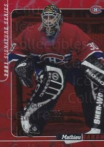 2000-01 BAP Signature Series National Cleveland Ruby #299 Mathieu Garon