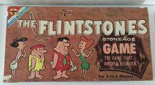 Vtg THE FLINTSTONES Stoneage Game TRANSOGRAM  1961 The Game That Rocked Bedrock