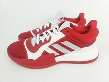 Adidas SM Marquee Boost Low Mens Basketball Red White Silver Size 11.5 G26741