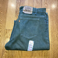 Vintage Levis Orange Tab 550 36x36 Green Jeans Dead Stock New With Tags