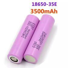 2x 18650 - PILE BATTERIE RECHARGEABLE 3500 mAh LI-ION 3,7 V POUR LAMPE TORCHE...
